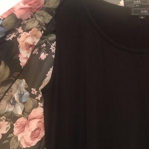 Ladies Black Sleeveless Maxi Dress